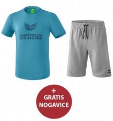 Komplet moške kratke hlače in majica ESSENTIAL ERIMA