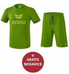 Komplet otroške kratke hlače in majica ESSENTIAL ERIMA