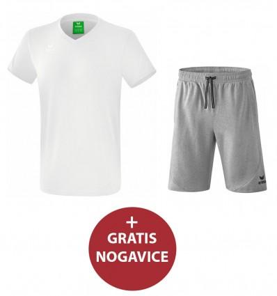 Komplet moške kratke hlače in majica STYLE ERIMA