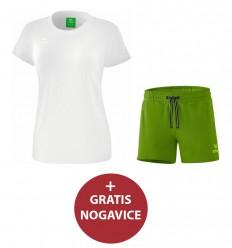 Komplet ženske kratke hlače in majica STYLE ERIMA