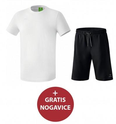 Komplet moške kratke hlače in majica TEAMSPORTS ERIMA