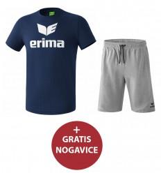 Komplet otroške kratke hlače in majica PROMO ERIMA