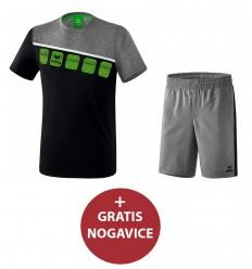Komplet (poliester) moške kratke hlače in majica PROMO ERIMA