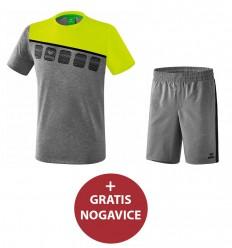 Komplet (poliester) otroške kratke hlače in majica PROMO ERIMA