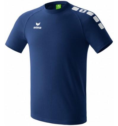 Otroška kratka majica 5-Cubes Erima - modra