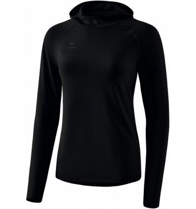 Ženska majica s kapuco z dolgimi rokavi Erima
