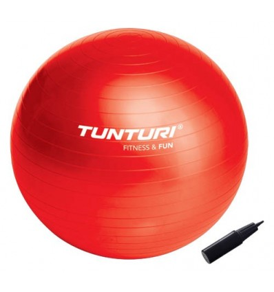 Gimnastična žoga črna 65 cm
