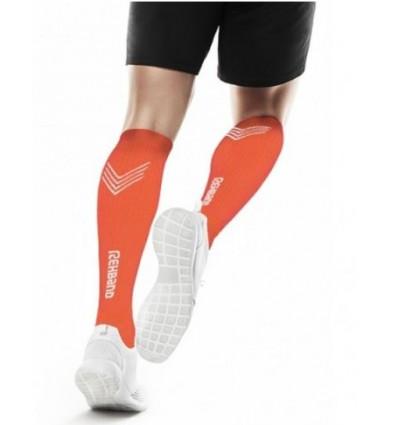 Kompresijske nogavice REHBAND - QD oranžne