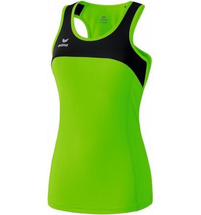 Ženska tekaška majica brez rokavov Race line erima
