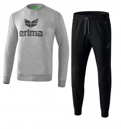 Komplet moška bombažna trenirka (pulover) ESSENTIAL ERIMA