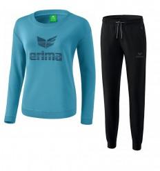 Komplet ženska bombažna trenirka (pulover) ESSENTIAL ERIMA